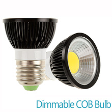 Dimmable LED Spot light Bulb E27 Cob mr16 GU10 3000K 6000K Warm Cold White 5W 7W 9W bulb replace Halogen lamp energy saving lamp(China)