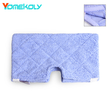 1PC Replacement Cleaning Pads For Shark Steam Mop Microfiber Machine Washable Cloths Blue Color 38.5x35 cm Steam Mop Cloth cover(China)