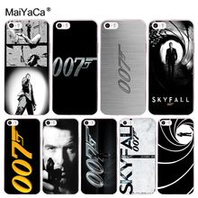 MaiYaCa Skyfall 007 Newest Fashion Luxury phone case for Apple iPhone 8 7 6 6S Plus X 5 5S SE 5C 4 4S Mobile Cases(China)