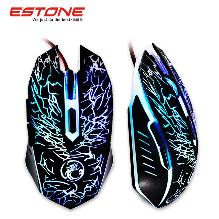 NEW Wired Gaming Mouse Mice Professional USB Optical Computer Mouse 6 Buttons E-Sports Mice Ratones Pc 5000DPI X9