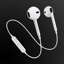 Buy Sport Running S6 Ear Earphones Stereo Wireless Bluetooth V 4.0 Headset Bass Bluetooth Earphone Mic Samsung S7 S8 for $2.99 in AliExpress store
