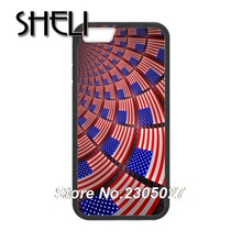 SHELI USA Various S American Flag cellphone case cover for Iphone 4S 5 5S 5C 6 Plus for Samsung galaxy S3 S4 S5 S6 Note 2 3 4(China)