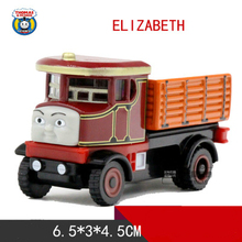 Thomas and Friends -One Piece Diecast Metal Train ELIZABETH Megnetic Train Toy Tank Engine Toy For Children Kids Christmas Gifts