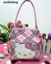 New Hello kitty Mini Messenger bag with Shoulder Strap Handbag Tote Purse CC-6682(China)