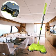 2017 New Arrival 360 Rotary Home Use Crab Manual Telescopic Floor Dust Sweeper 65