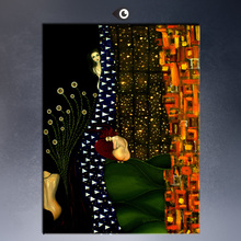 Gustav KLIMT giclee print CANVAS WALL ART decor poster oil painting print on canvas free shipment