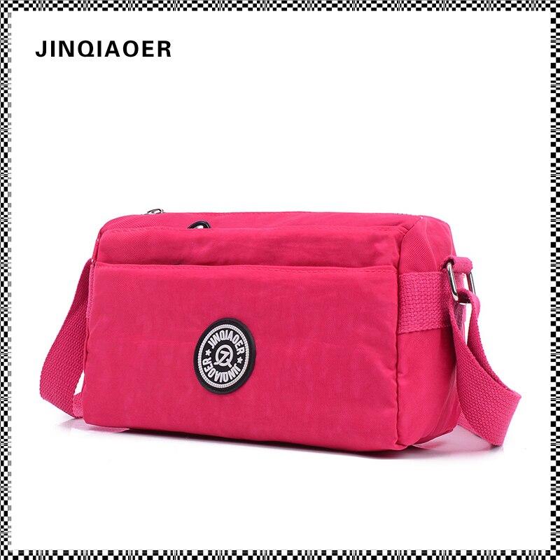 JINQIAOER New Nylon Women Bag Waterproof Shoulder Bag Handbag Multifunction Zipper Women Messenger Bags Crossbody Bag Sac Femme<br><br>Aliexpress