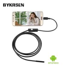 Hidden Android Phone Inspection Camera 2M 7.0mm lens Endoscope inspection Pipe IP67 Waterproof 720P HD micro USB spy mini Camera
