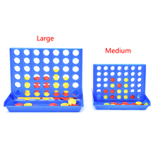 New hot Sports Entertainment Connect 4 Game Children's Educational Board Game Toys for Kid Child(China)