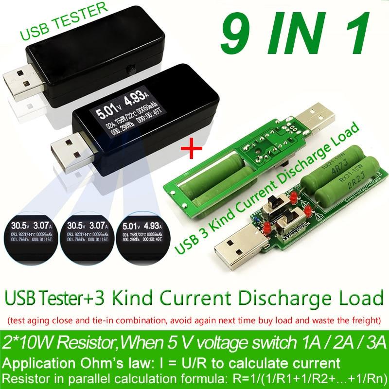 USB-tester-DC-Digital-voltmeter-amperimetro-current-voltage-meter-amp-voltammeter-detector-power-bank-charger-indicator