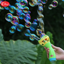 Bubble Gun Soap Bubbles Show for Kids Electric Bubble Blower Gun Machine Wand for Baby Toys Games Playground Picnic Outdoor Toys(China)