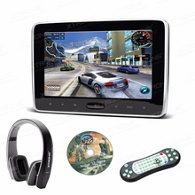XTRONS Monitor 10.1 inch HD Digital TFT Screen Touch Panel Car Headrest DVD Player with HDMI Port Game Disc IR FM+1 headphones(China)
