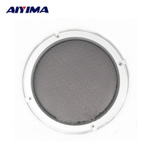 2Pcs 6.5Inch Tweeter Audio Speaker Cover Speakers Protective Net Tweeters Grille Waffle Mesk Grills Audio Accessories