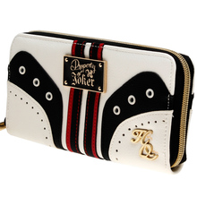 Suicide Squad Harley Quinn Wallet pu Long Fashion Women Wallets Designer Brand  Purse Lady Party Wallet Female Card Holder