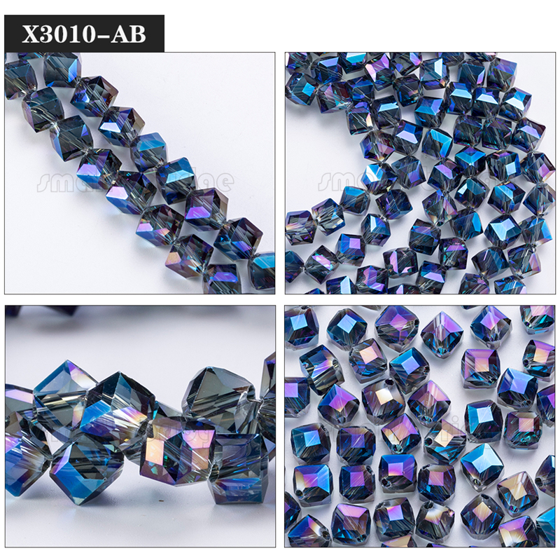 Square Glass Beads (11)