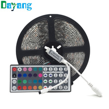 IP65 Waterproof RGB led strip 5050 SMD 300LEDs 5M emitting diode led rope light + 44keys Remote controller+IR Receiver, fita led