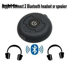 kebidu H-366T Multi-point Wireless Audio Bluetooth Transmitter Music Stereo Dongle Adapter For TV Smart PC MP3 Bluetooth4.0 A2DP(China)
