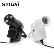 Buy Smuxi 10W RGB Beam LED Stage Light Sound Auto Pin Spot Light Disco Bar Party DJ Show Stage Lighting Effect LED Lamp 90-240V for $17.36 in AliExpress store