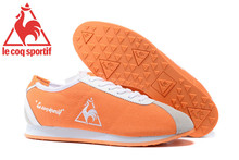 Le Coq Sportif Women's Running Shoes,High Quality Canvas Upper Le Coq Sportif Women Athletic Shoes Sneakers Orange Color 1