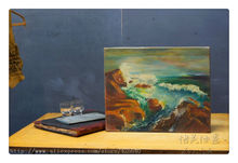 Ocean waves oil painting Seascape Oil painting on canvas hight Quality Hand-painted Painting 1