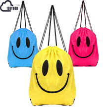 ISKYBOB Outdoor Beach Gym Swimming Clothing Shoes Towel Storage Bag Drawstring Backpack