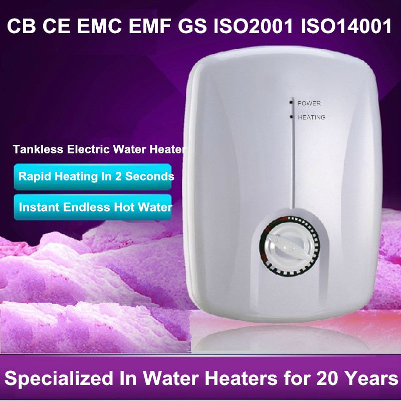 Mini Tankless Electric Water Heater Kitchen Undersink induction Heater instantaneous water heater chuveiro eletrico endless hot<br><br>Aliexpress