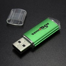 Bestrunner 2GB USB Flash Drive Flash Disk USB2.0 Memory Stick Drive Metal USB Stick Memory Disk Drive Pen Drive 4 COLOR