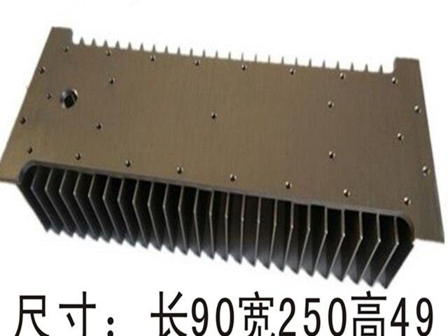 Fast Free Ship 90*250*49mm Module Radiator high-power led street lamp radiator Aluminum electronic radiator<br>