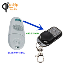Copy CAME TOP432NA Duplicator 433.92Mhz remote control Universal Garage Door Gate Fob Remote Cloning 433mhz Transmitter(China)