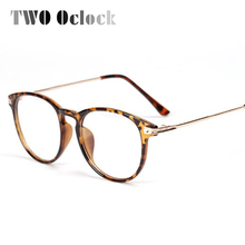 TWO Oclock Oversize Eyeglasses Women Transparent Clear Glass Optic Frames Eye Glasses Men Diopter Spectacles oculos de grau 1321