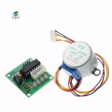 Buy 1LOTS 28BYJ-48-5V 4 phase Stepper Motor+ Driver Board ULN2003 Arduino 1xStepper motor +1x ULN2003 Driver board for $1.81 in AliExpress store