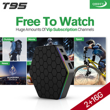 Android Box S912 T95ZPLUS Europe French Arabic IPTV channels Smart TV 1300 Live HD WIFI Media Player Set Top Box