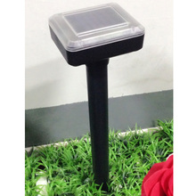 High Quality Solar Powered Ultrasonic Mouse Rat Bug Pest Repeller Home Garden Rat Expeller Summer Pest Control(China)