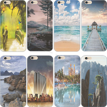 Brilliant Sun Sea Wave River Silicon Phone Cover Cases For Apple iPhone 5 iPhone 5S iPhone5S Case Shell Top Fashion Best Choose