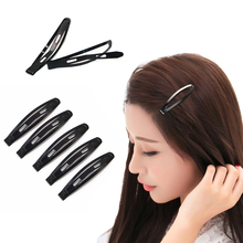 12Pcs Girls Black Head Hairgrips Hairclips Hair Barrettes Hairpins Hair Styling Tool Snap Hair Clips Accessories For Women(China)