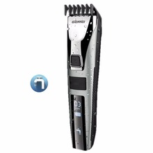 waterproof hair trimmer beard men's hair clipper rechargeable electric cutter hair cutting machine haircut LCD display 3-22mm(China)