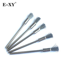 E-XY 10 Pieces The New Electronic Cigarette DIY Tool Long brush MOD Atomizer Tank Heating wire coils DIY long Clean Steel Brush
