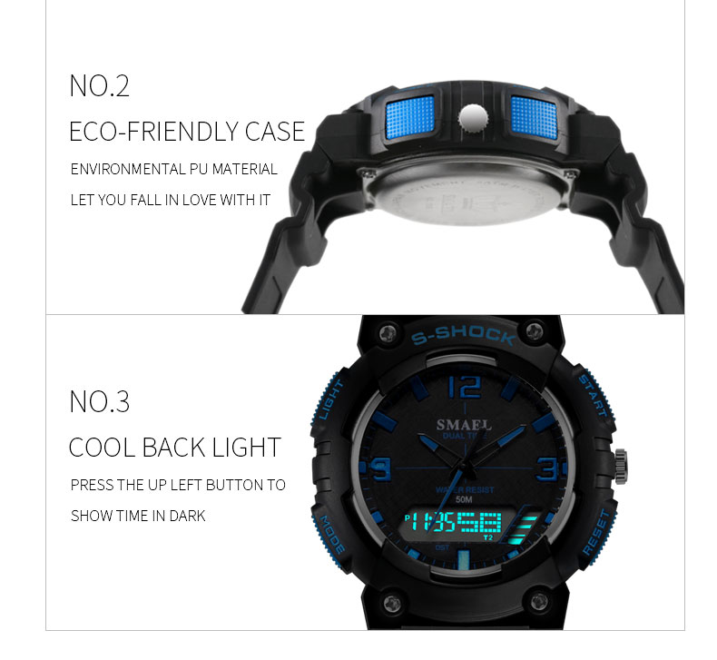 3.sport watch led