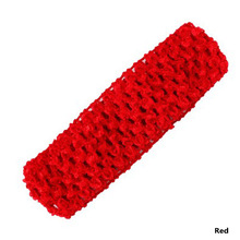 1PC Crochet Head Band For Girls Hairbands Hair Accessories Elastic Headband Crochet Bands Diy Headwear(China)