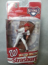 LIMITED BLANK OF 100 Prototype McFarlane MLB Series 27 Stephen Strasburg Collector Level ALL-STAR Figure(China)