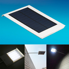 100% Brand new and high quality! 12 LED Ultra-thin Waterproof Solar Sensor Wall Street Light Outdoor Lamp(China)