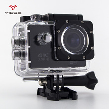 F60 Action Camera 4K 30FPS Wifi Ultra HD 16MP 30M Waterproof 170D Xiao Go yi 4k EK EN Style Helmet Pro Deportiva Sport Camcorder