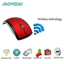 Computer Peripherals Accessories 2.4GHz Arc Wireless USB Receiver Slim Foldable Optical Flat For Microsoft Touch Mouse