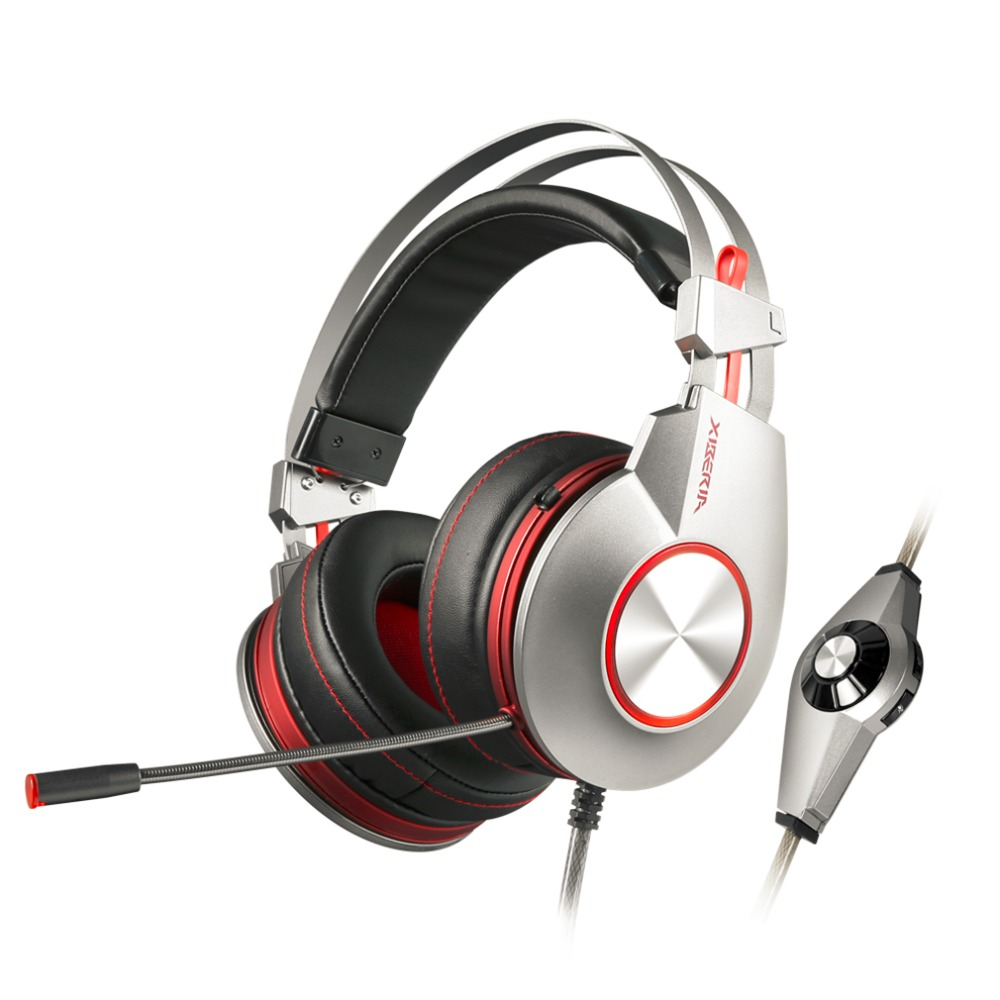K5U Super Stereo Bass USB7.1 20-20000Hz Computer PC Gamers Headbands With Microphone Gaming Headphone Hot Selling<br>