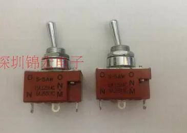 1PCS Toggle Switch S-5AW, unilateral reset<br>