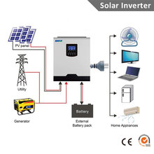 Axpert VP3000 24/Axpert VM3000 24 Same type 2400W 24V 220V 50A PWM & 40A MPPT Solar Inverter(China)