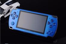 Handheld Game Player 4.3inch  8GB PMP  MP4 MP5 Game Player With Camera+TV out+FM 5PCS  3000 games free shipping