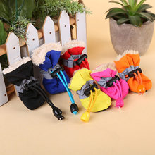 Winter Dog Shoes Waterproof Pet Shoes for Dog Warm Rain Dog Boots Socks Pet Shoes Chihuahua Yorkshire 9cy20