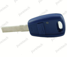 20pieces/lot Blue Blanks Key For Car Fiat Remote Key Fobs Replacements with SIP22 blade