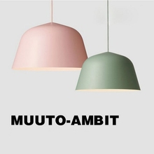HAIXIANG Nordic aluminum Pendant Lights personality Muuto-Ambit lighting living room restaurant dining table lamps(China)